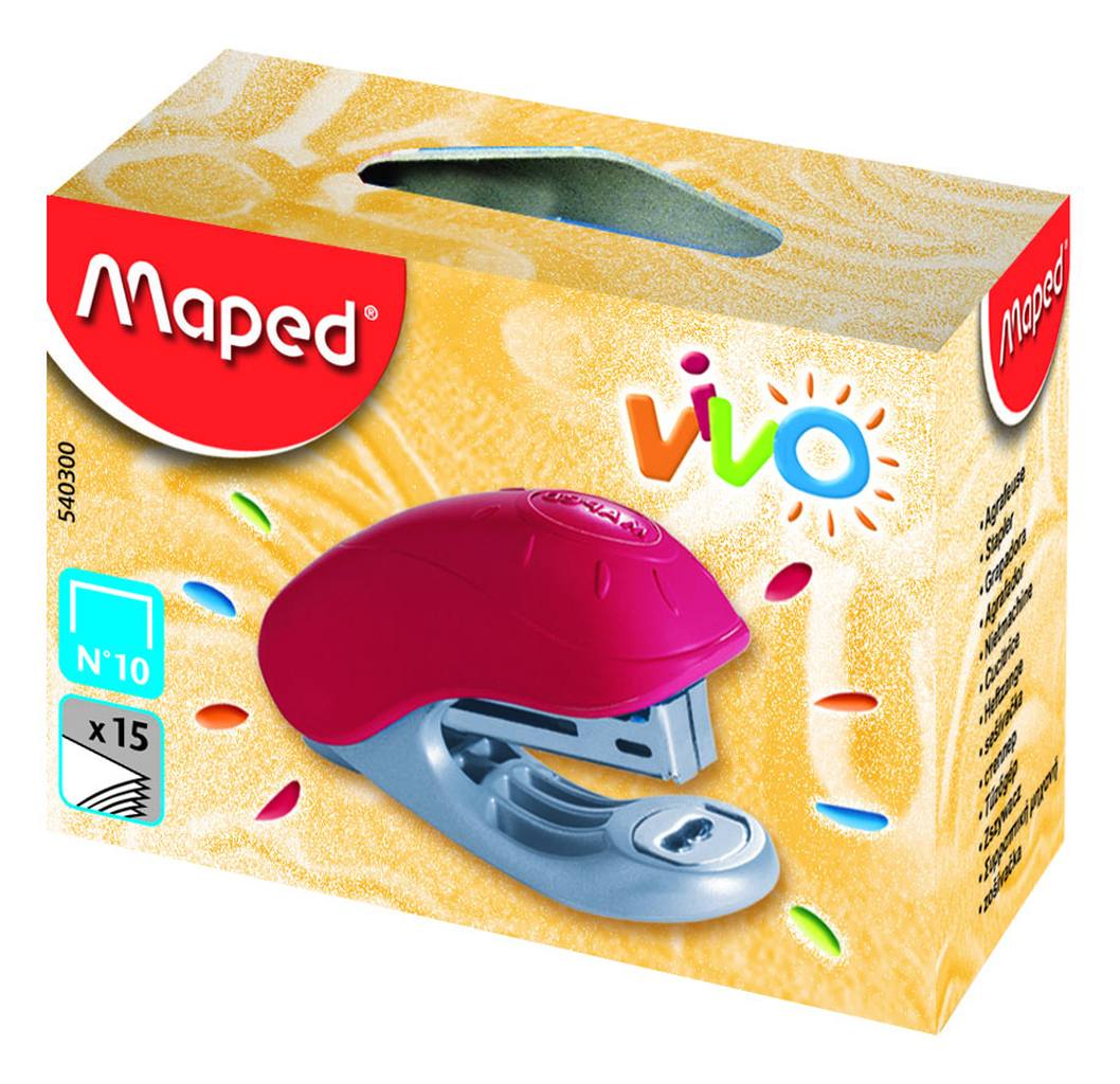 степлер №10 15 листов MAPED VIVO