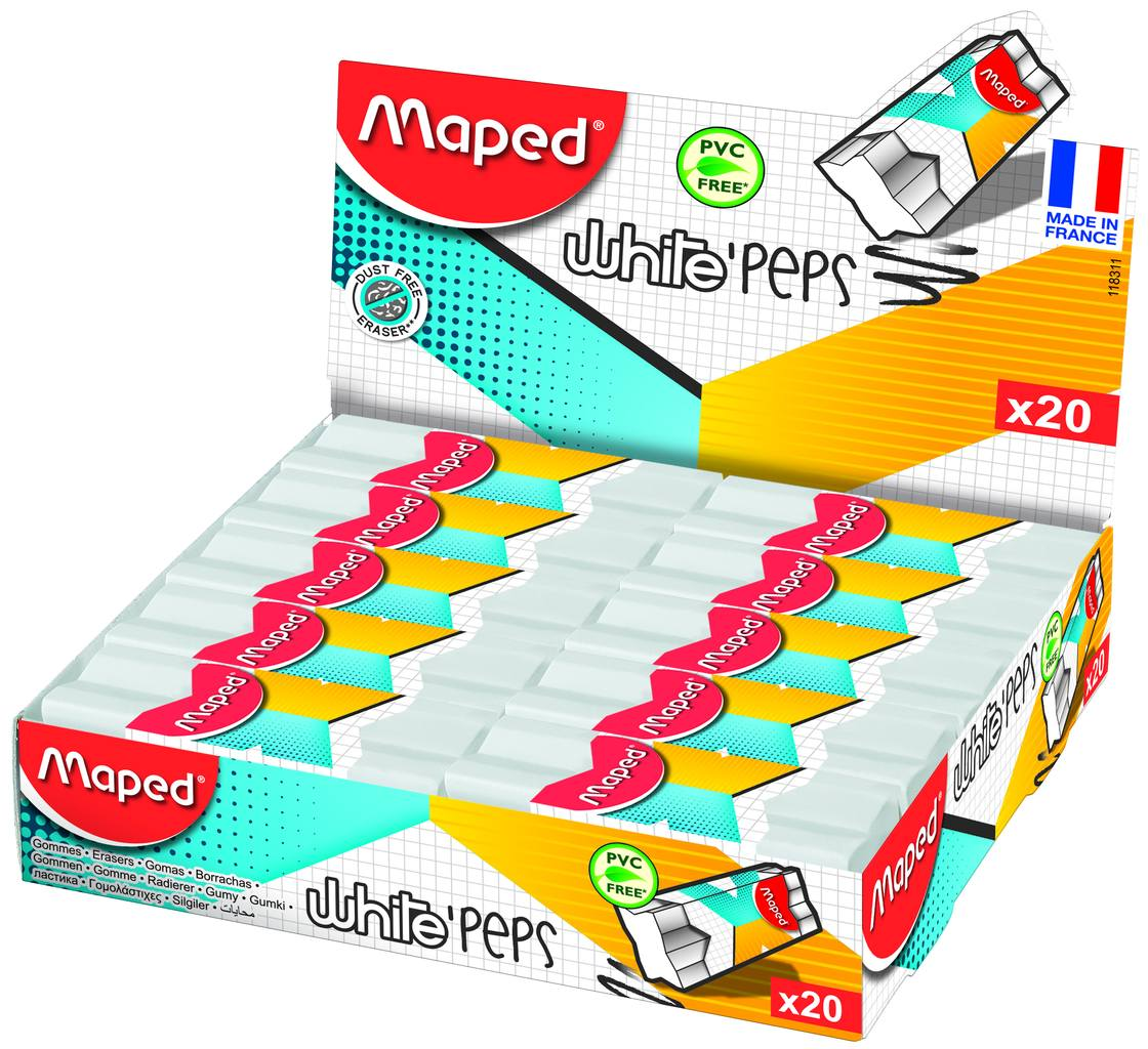ластик MAPED WHITE PEPS Эксперт Х-сечение 118311